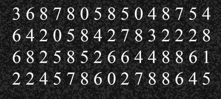 Tu poti sa gasesti numarul 425? Pare usor la prima vedere, dar in realitate e destul de complicat