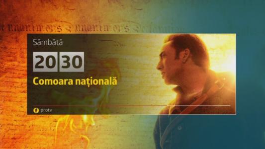 Comoara nationala, sambata, 15 iulie, de la 20:30, la Pro TV