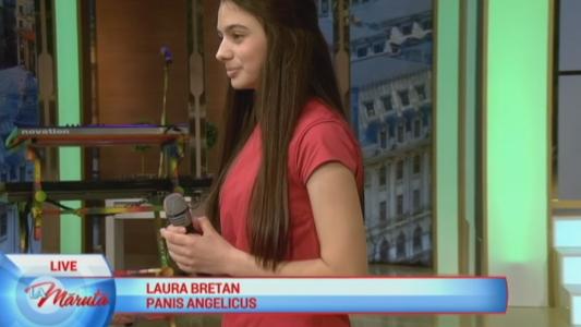 Laura Bretan, show La Maruta