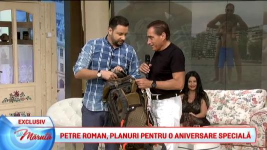 Petre Roman, planuri pentru o aniversare speciala