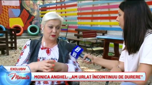 Monica Anghel, operata