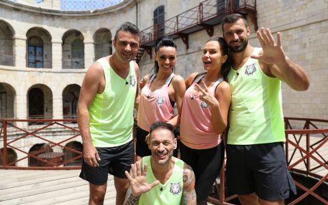 Anna Lesko, Cosmina Pasarin, George Vintila, Cornel Ilie si Andrei Stoica intra in aventura Fort Boyard!