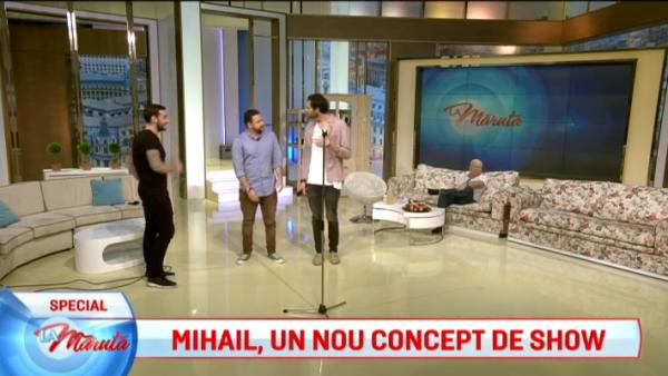 Mihail, un nou concept de show