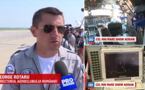 100 de avioane militare si civile au facut acrobatii spectaculoase pe cerul Romaniei, la show-ul aviatic BIAS