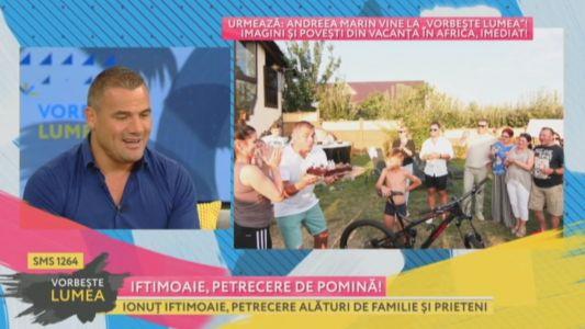 Ionut Iftimoaie, petrecere de pomina
