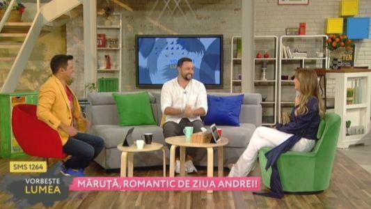 Catalin Maruta, romantic de ziua Andrei