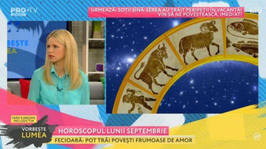 Horoscopul lunii septembrie - 2017