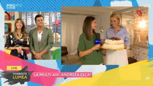 La multi ani, Andreea Esca!