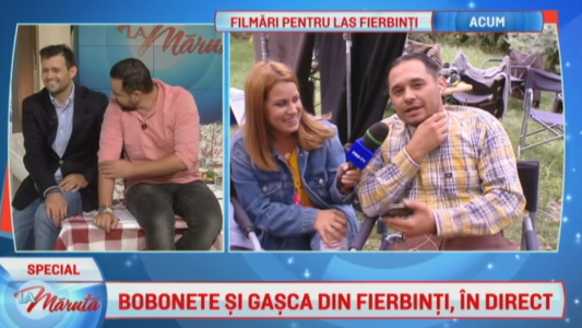 Bobonete si gasca din Fierbinti, in direct