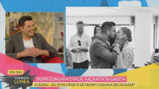 Gina si Bogdan Vladau au facut cununia civila