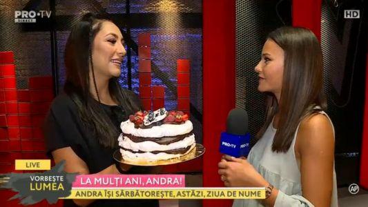 Andra, in culise show-ului Vocea Romaniei Junior