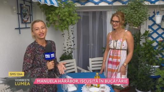 Manuela Harabor, iscusita in bucatarie