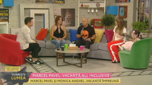 Marcel Pavel, vacanta all inclusive
