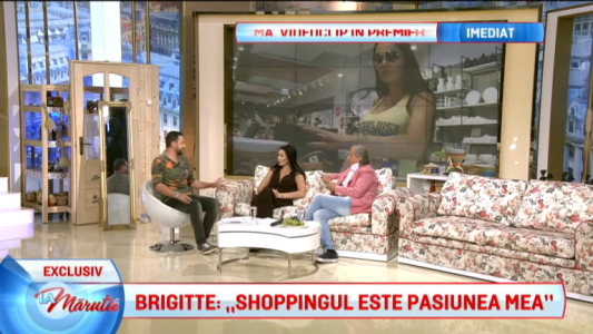 "Brigitte: ""Shoppingul e pasiunea mea"""