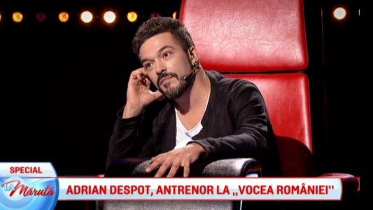 "Adrian Despot, antrenor la ""Vocea Romaniei"""