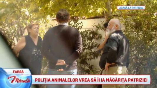 Chef Patrizia, necazuri cu politia animalelor