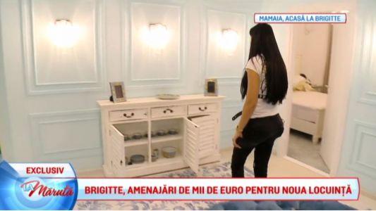 Brigitte, amenajari de mii de euro pentru noua locuinta