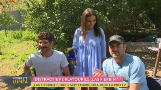 "Distractie pe platourile ""Las Fierbinti"""
