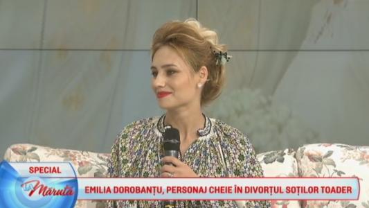 """Emilia Dorobantu: """"Sotul meu este sotul meu"""""""