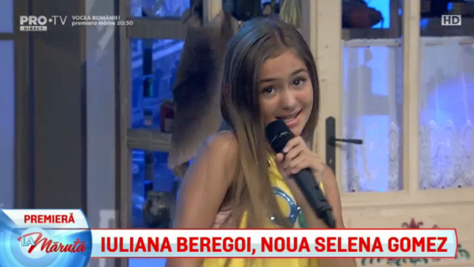 Iuliana Beregoi, noua Selena Gomez