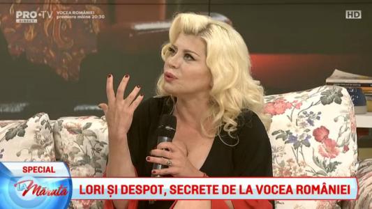 Lori si Despot, despre secretele de la Vocea Romaniei