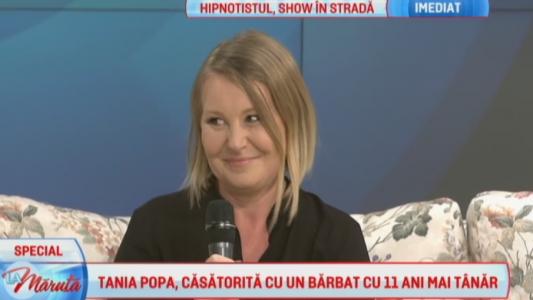 Tania Popa, casatorita cu un barbat cu 11 ani mai tanar