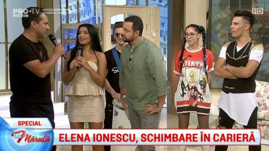 Elena Ionescu, show de weekend