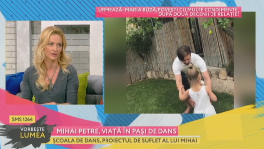 Mihai Petre, viata in pasi de dans