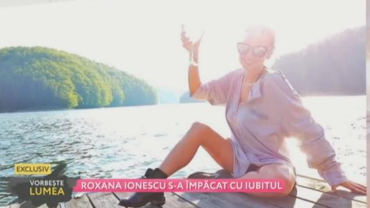Roxana Ionescu s-a impacat cu iubitul