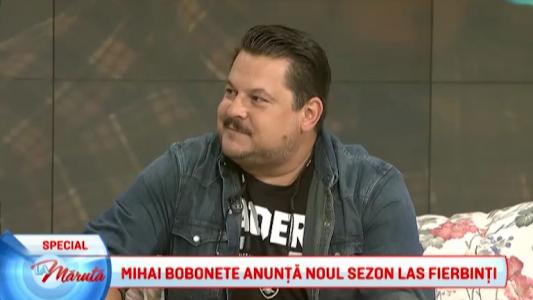 Mihai Bobonete anunta noul sezon Las Fierbinti