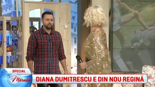 Diana Dumitrescu e din nou regina
