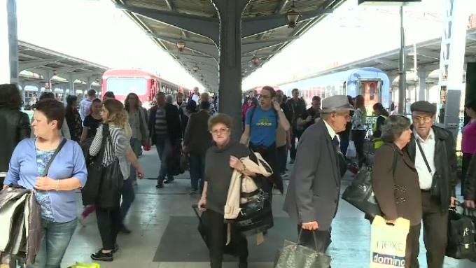 Wi-fi gratuit in Gara de Nord. Cati utilizatori se pot conecta simultan