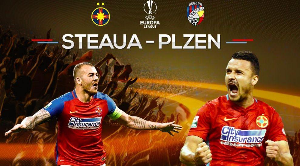 PRO TV transmite FCSB - Viktoria Plzen FCSB