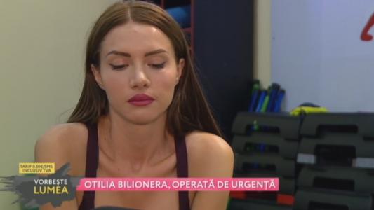 Otilia Bilionera, opearata de urgenta