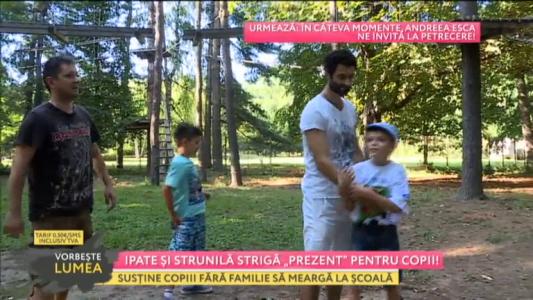 """Ipate si Strunila striga """"prezent"""" pentru copii"""