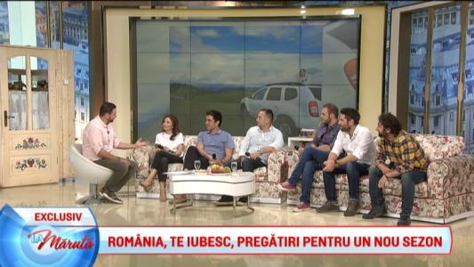 ROMANIA, TE IUBESC! - pregatiri pentru un sezon nou