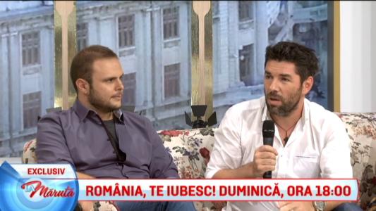 ROMANIA, TE IUBESC!, duminica, de la ora 18:00
