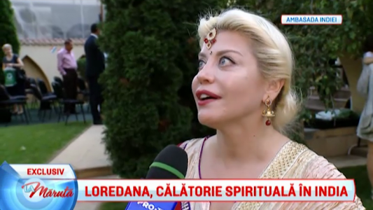 Loredana, calatorie spirituala in India