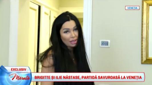 Brigitte si Ilie Nastase, partida savuroasa la Venetia.