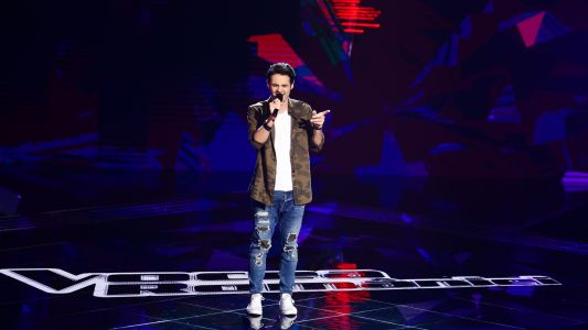 Vocea Romaniei - sezonul 7: Amedeo Chiriac - Sandcastles