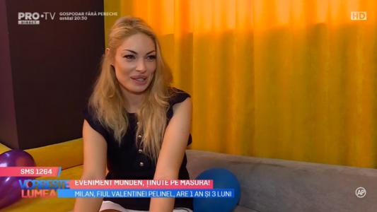 Valentina Pelinel, o mama puternica