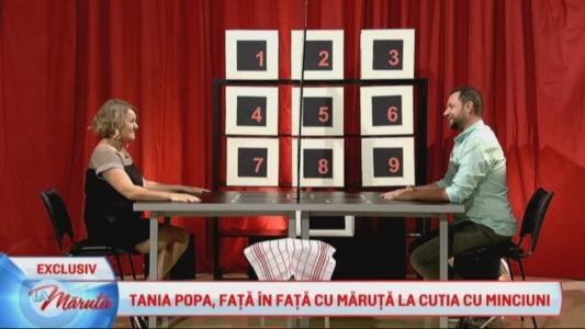 Tania Popa, fata in fata cu Maruta la Cutia Minciunilor