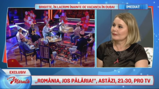 """""""Romania, jos palaria!"""", astazi, de la 21:30"""