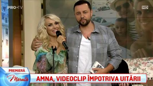 Amna, videoclip impotriva uitarii