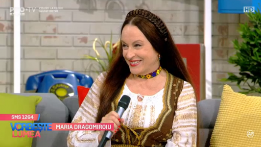 Maria Dragomiroiu, greu fara sot