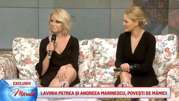 Lavinia Petrea si Andreea Marinescu, povesti de mamici