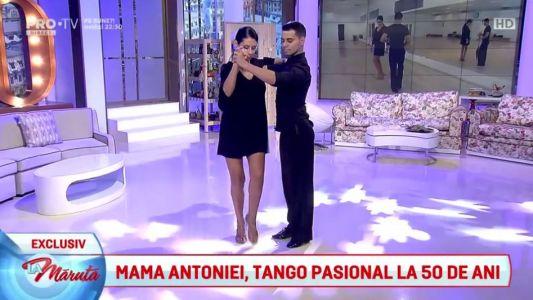 Mama Antoniei, tango pasional la 50 de ani