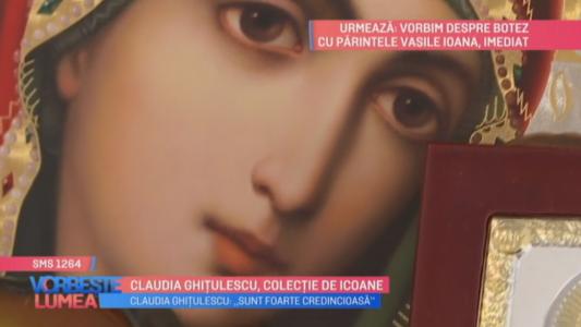 Claudia Ghitulescu, colectie de icoane