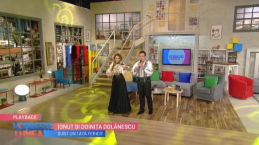 Scena e a lor: Doinita si Ionut Dolanescu