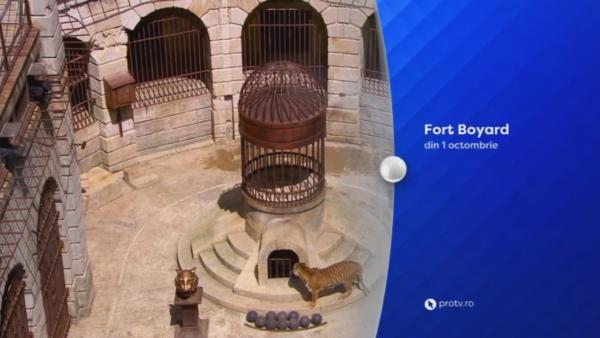 Din 1 octombrie, de la 20:30, aventura Fort Boyard incepe numai la PRO TV!